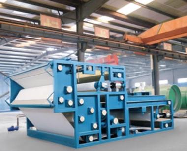 带式压榨过滤机的组成结构