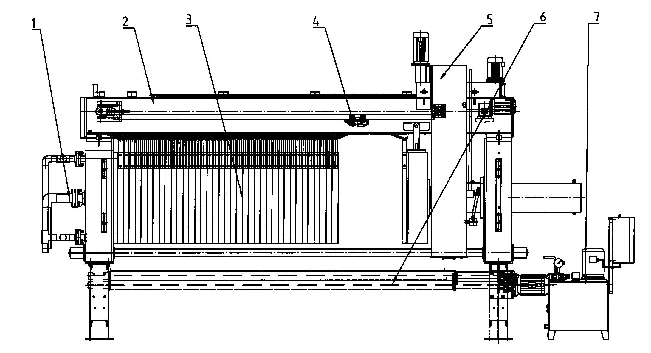 全自动脱硫废水隔膜压滤机设计方案