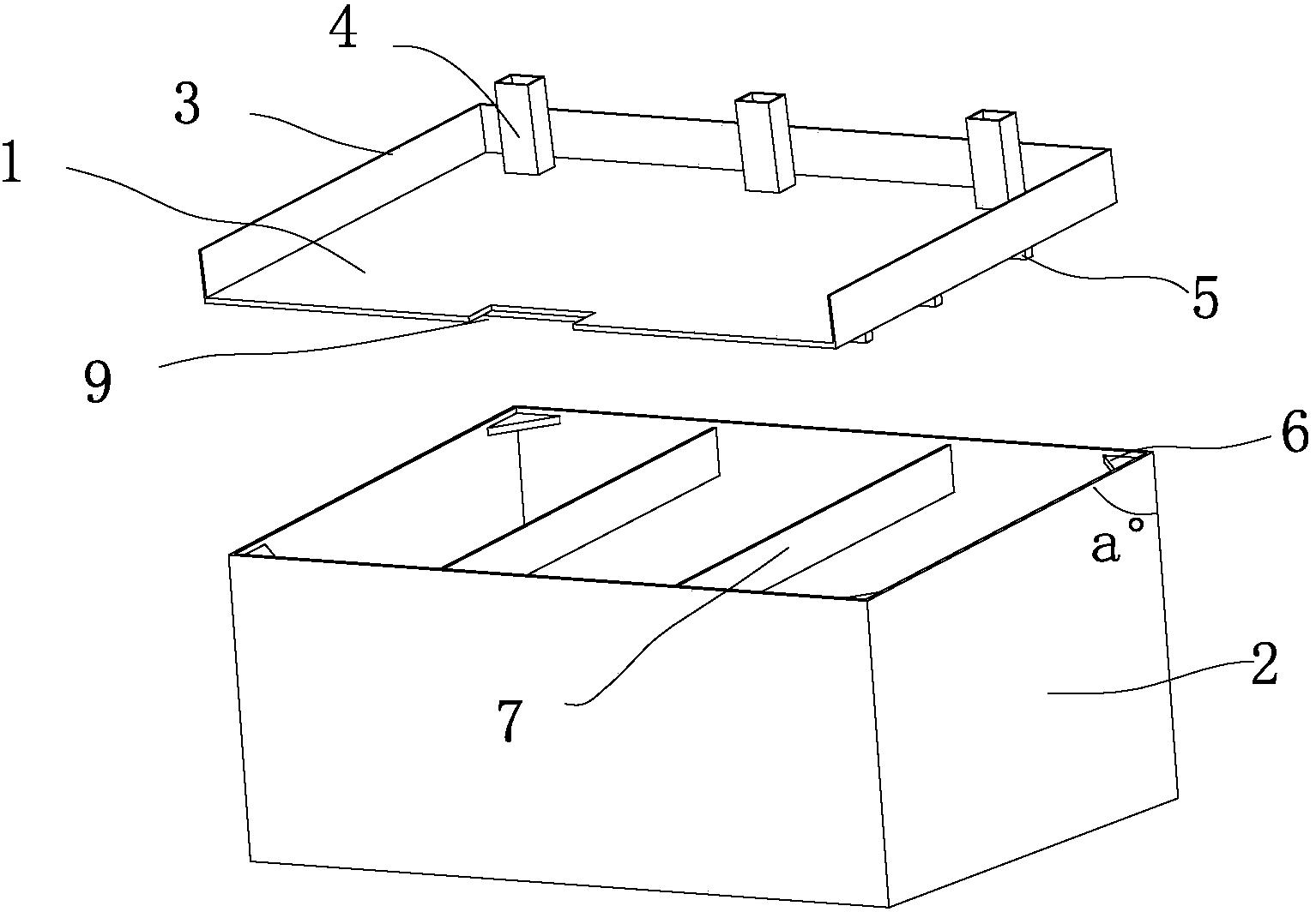 压滤机污水承接箱的作用
