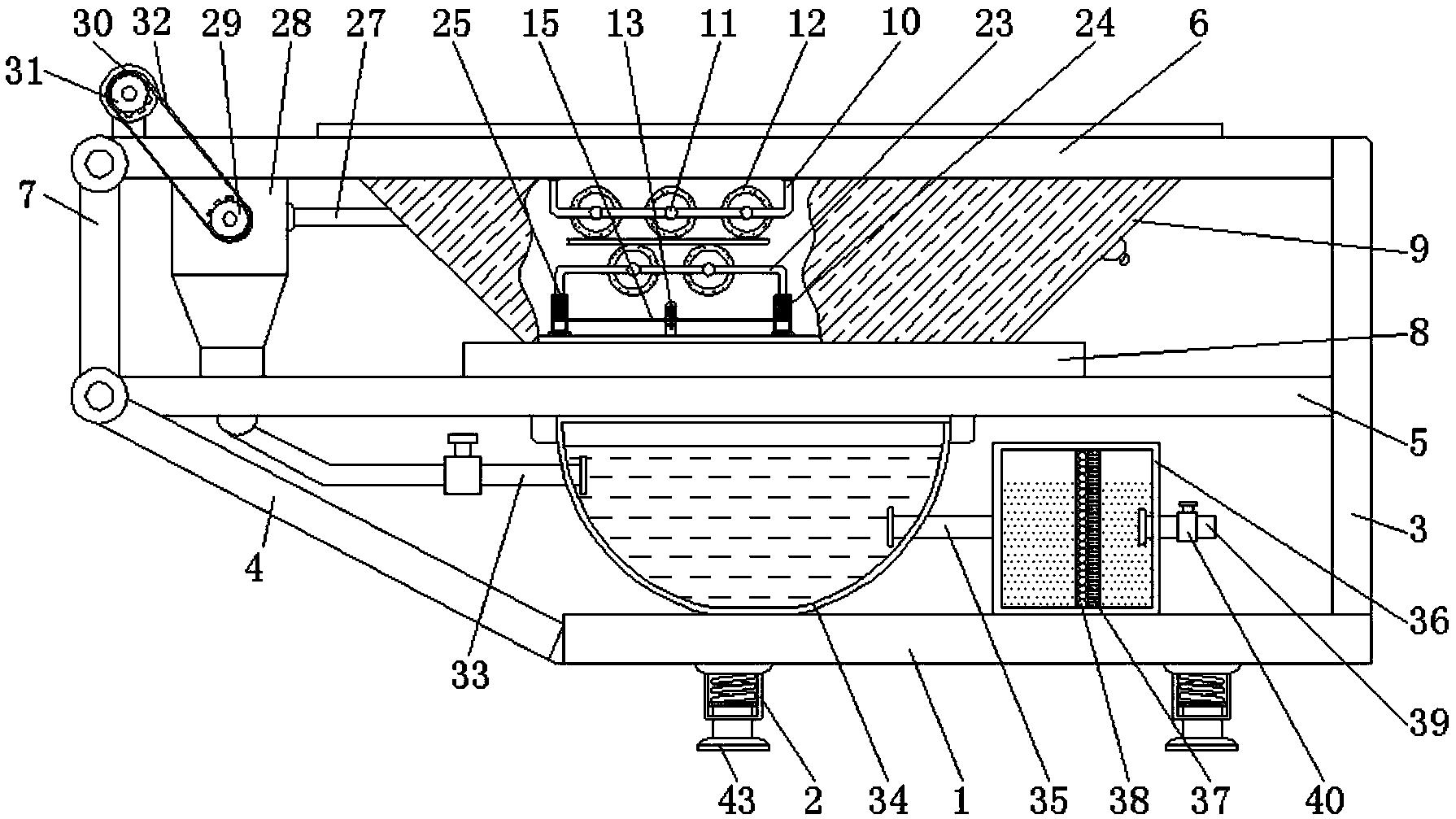 带式压滤机的印染污水处理技术